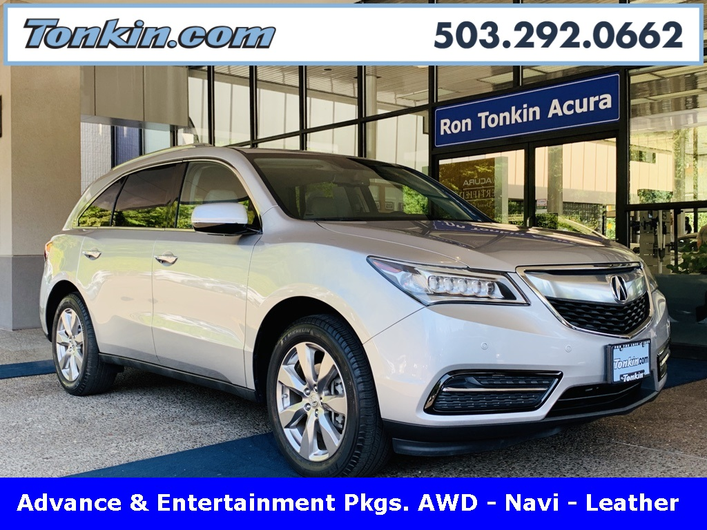 Pre-Owned 2015 Acura MDX 3.5L Advance Pkg w/Entertainment Pkg