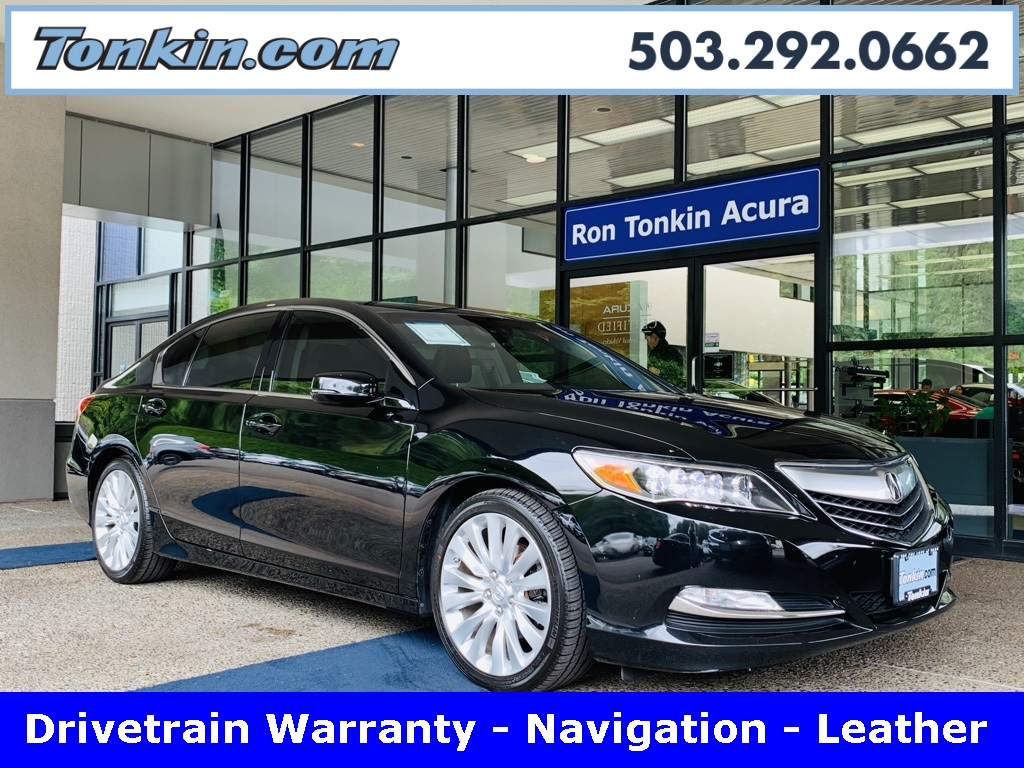 Pre-Owned 2015 Acura RLX Technology