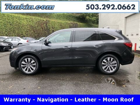 Pre-Owned 2016 Acura MDX Technology Pkg
