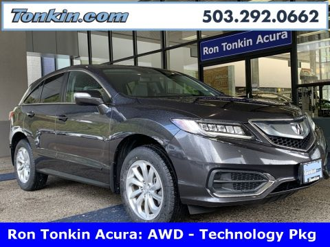 Pre-Owned 2016 Acura RDX AWD w/Technology Package
