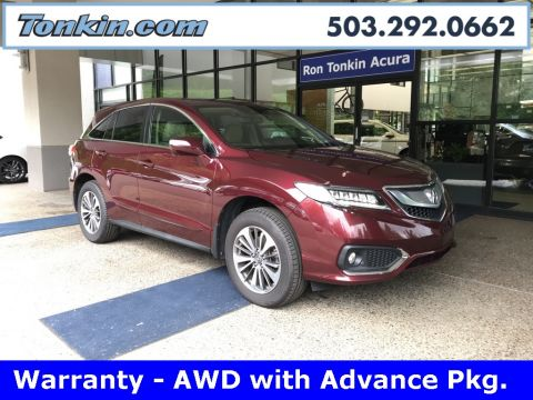 Pre-Owned 2016 Acura RDX AWD w/Advance Package