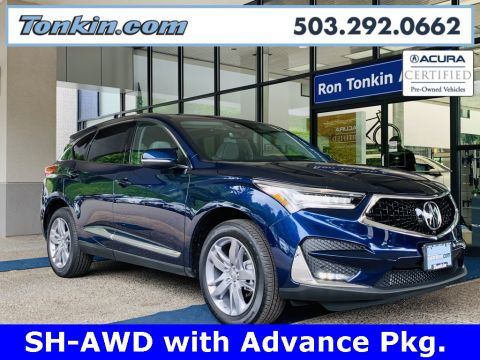 Pre-Owned 2019 Acura RDX Advance Package